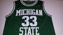 "Ervin ""Magic"" Johnson Michigan State Jersey"
