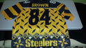 ANTONIO BROWN Pittsburgh Steelers Designer Jersey
