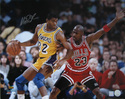MAGIC JOHNSON SIGNED 16X20 PHOTO