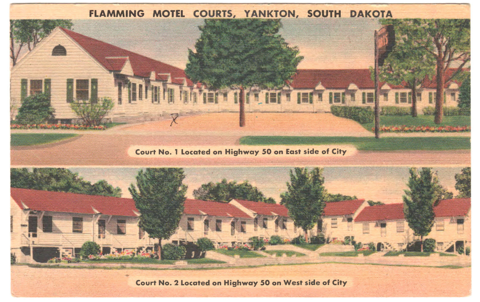 Vintage Motels in South Dakota