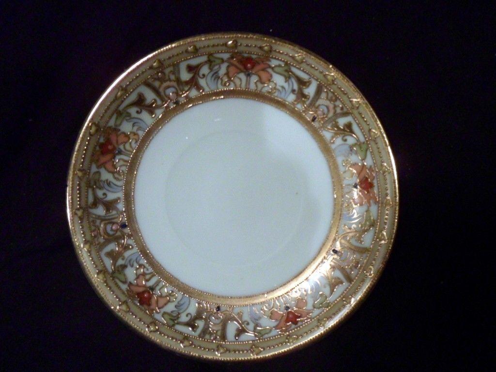 Collection of Six Antique Woodmere Kaiser Haviland Vintage Plates Villeroy