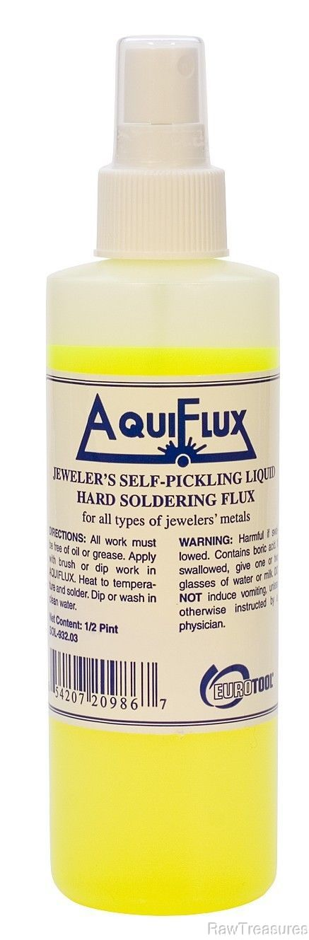 AquiFlux Jewelers Self Pickling Soldering Flux 8 o