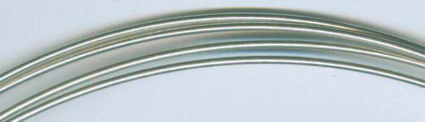 14 Gauge Sterling Silver Wire Round Dead Soft - 2