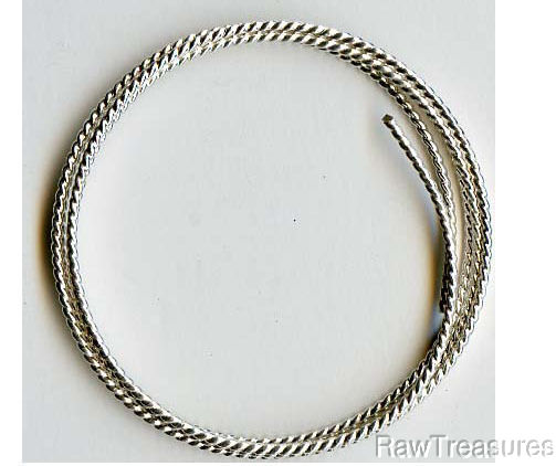 16 Gauge .925 Sterling Silver Twist Dead Soft Roun