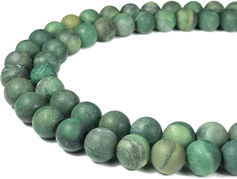 "African Jade 6mm Beads - 16"" Strand"