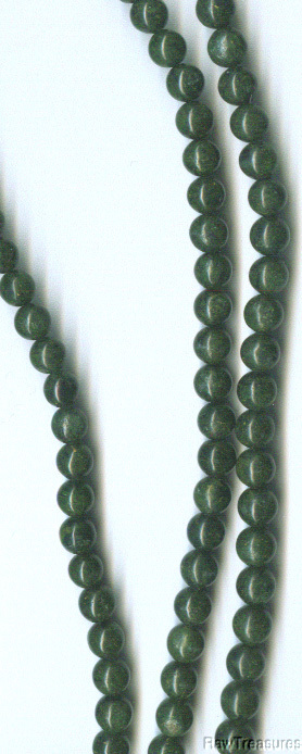 "African Jade 6mm Beads - 16"" Strand"
