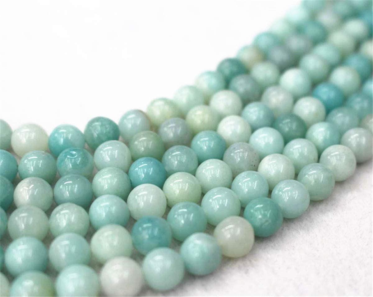 """Amazonite 6mm Beads - 16"""" Strand"""