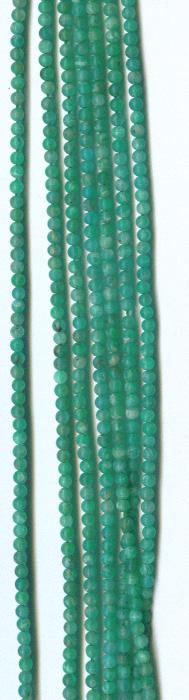 """Amazonite 2mm Beads - 16"""" Strand"""