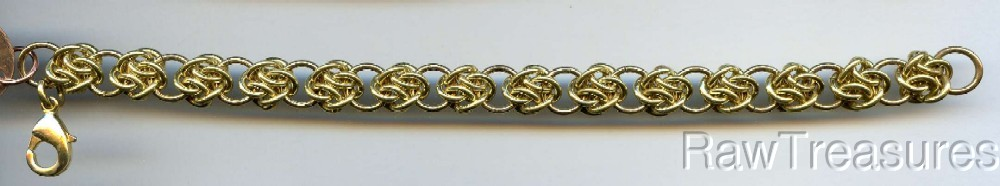 Four Winds Chain Maille Kit - 16g Brass 7 1/2""