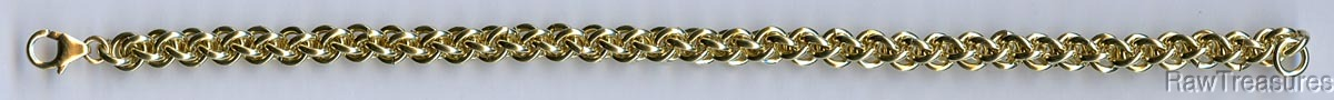 Jens Pind Chain Maille Bracelet Kit - Solid 18g Co