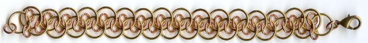 Shenanigans Chain Maille Bracelet Kit -Solid Brass