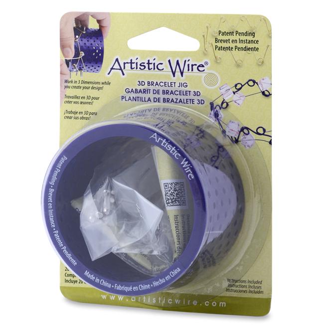 Beadalon Artistic Wire Tool 3D Bracelet Jig