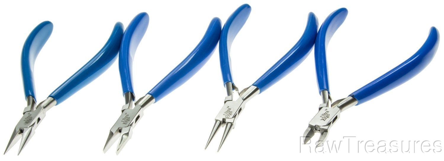 4 pc. Ultra Ergo Plier Set - PLR-275.98 by EuroToo
