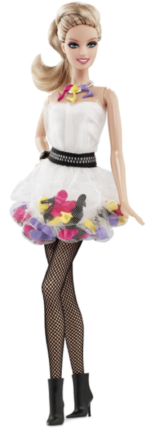 2011 SHOE OBSESSION Barbie Doll IN STOCK NOW!