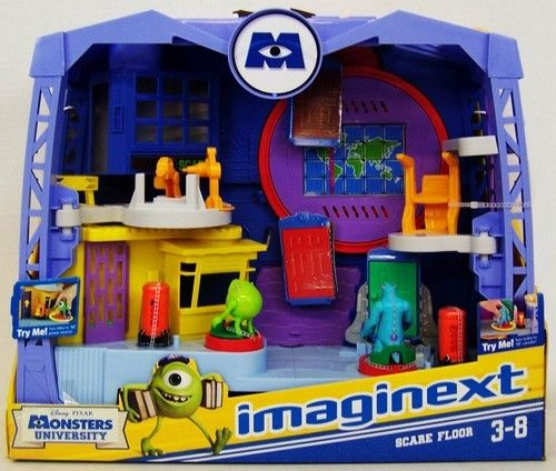 FISHER PRICE IMAGINEXT MONSTERS UNIVERSITY MONSTER
