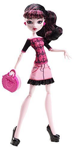 Monster High Scaris DRACULAURA Travel Doll NEW!