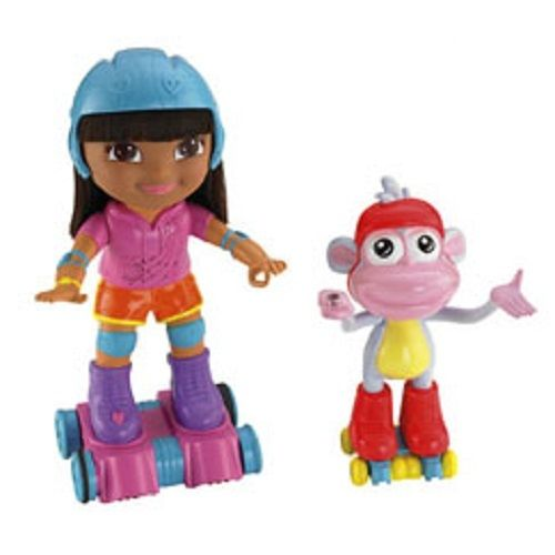 Dora the Explorer SKATE & SPIN DORA & BOOTS SET Ne