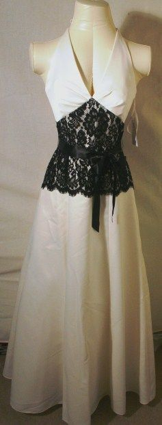 JESSICA McCLINTOCK Ivory Lace Wedding Dress NWT Si