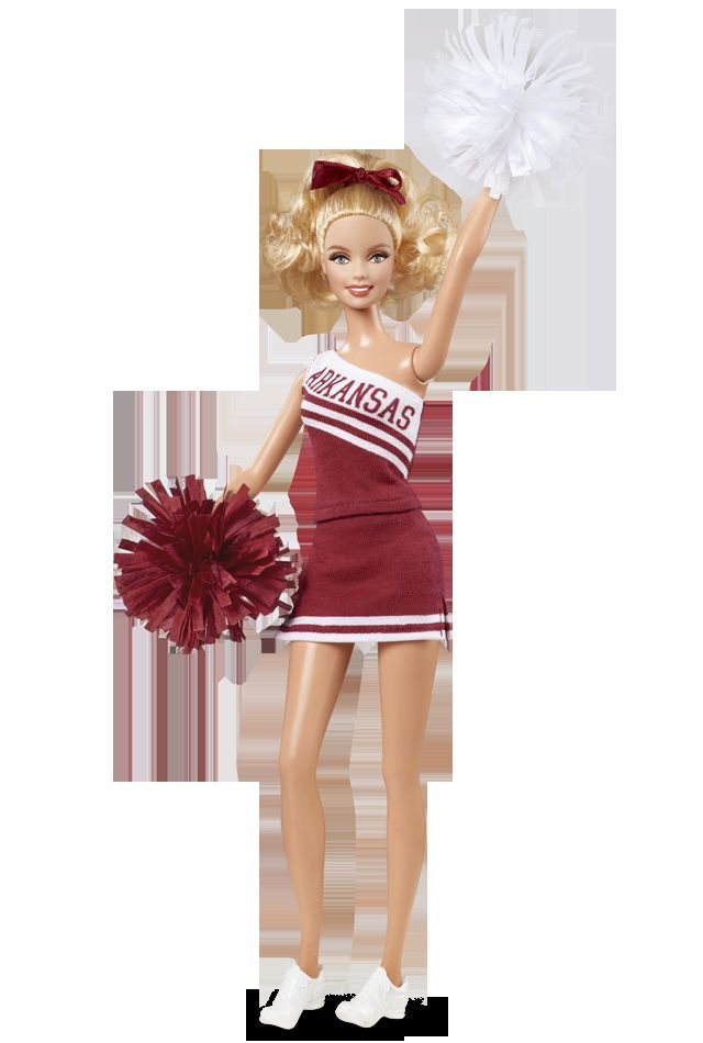 2012 University of ARKANSAS Razorbacks Cheerleader