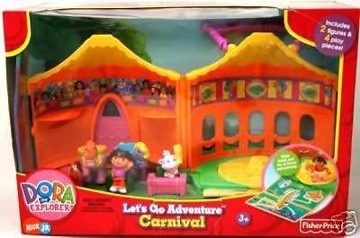 Fisher Price DORA Explorer Let's Go Adventure CARN