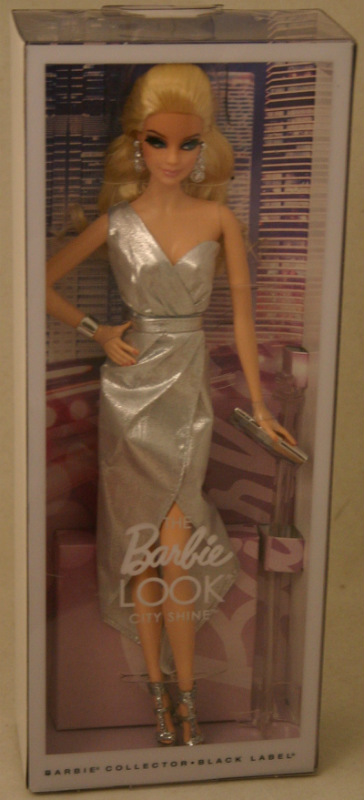 2015 Look CITY SHINE Metallic Silver Barbie NEW! I