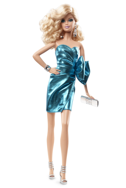 2015 Look CITY SHINE #2 Blue Blonde Barbie Doll IN