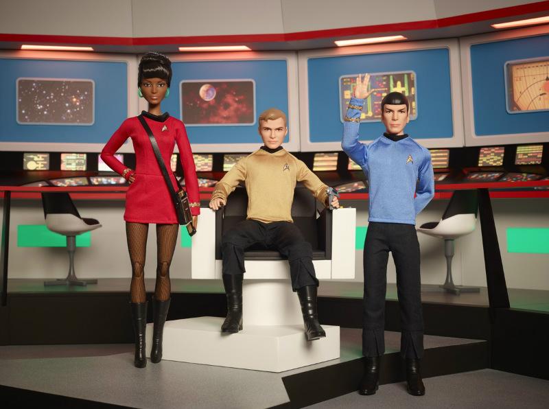 2016 Star Trek KIRK, SPOCK & UHURA 50th Anniversar