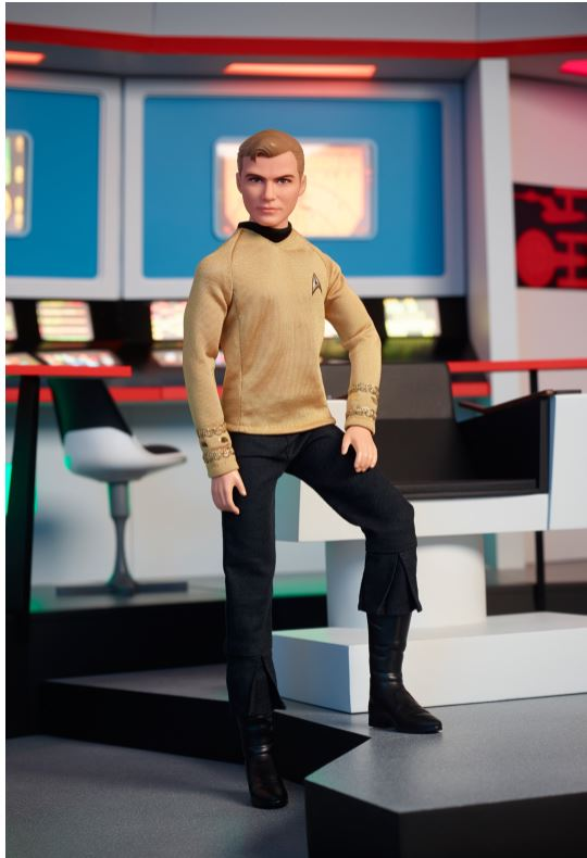 2016 Star Trek KIRK Barbie Ken Doll - PREORDER!!