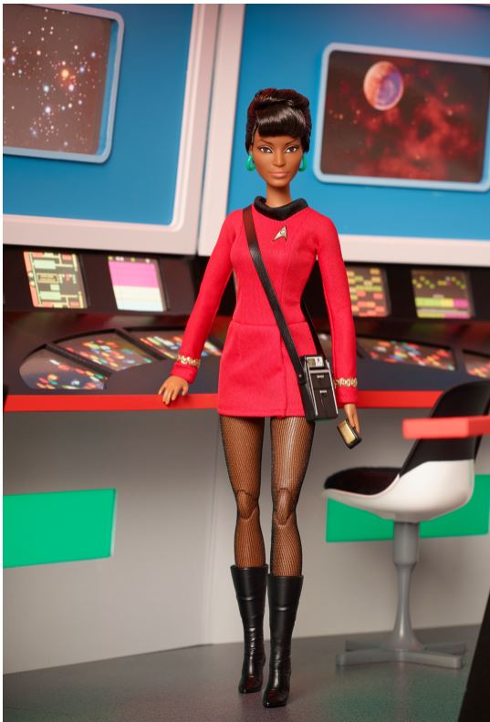 2016 Star Trek UHURA 50th Anniversaryt Barbie Doll