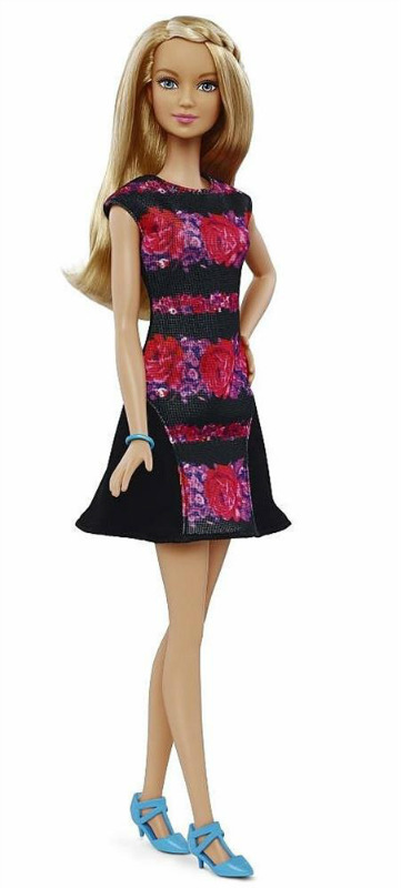 Barbie Fashionistas FLORAL FLAIR Tall Doll New! IN
