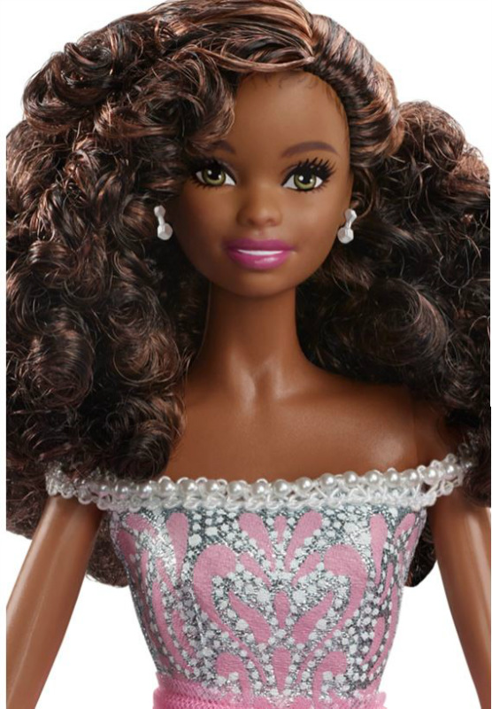 2017 Birthday Wishes Barbie African American Doll DVP50 IN STOCK NOW