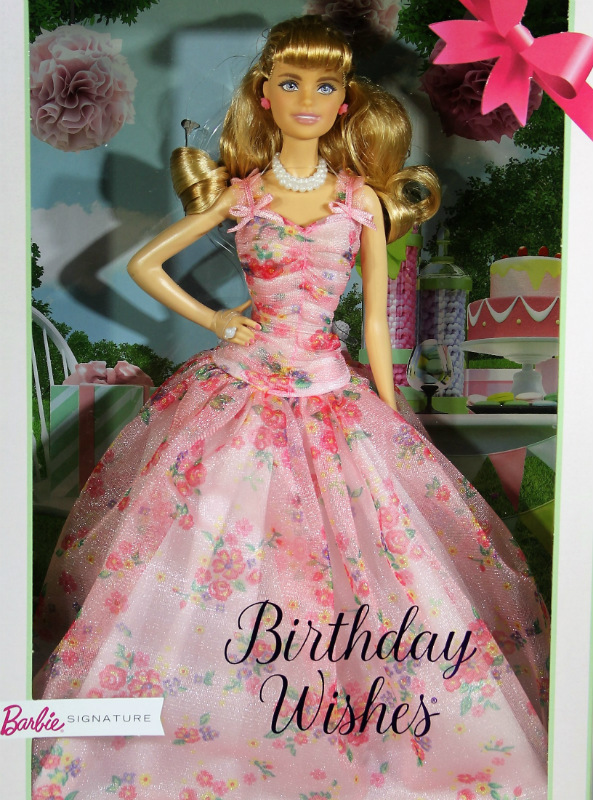 2018 Birthday Wishes Barbie Doll FXC76 IN STOCK NOW