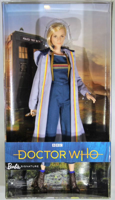 13th Doctor Who Jodie Whittaker Barbie Doll FXC83