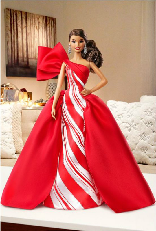 2019 HOLIDAY Hispanic Barbie Doll FXF03 IN STOCK NOW! 887961689228