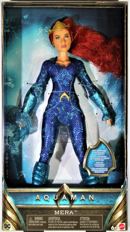 Aquaman Mera Doll by Mattel IN STOCK NOW!