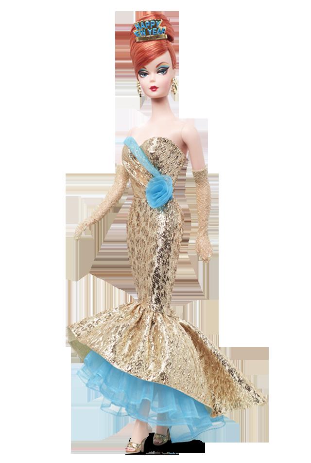 2013 HOLIDAY HOSTESS HAPPY NEW YEAR Barbie Doll NE
