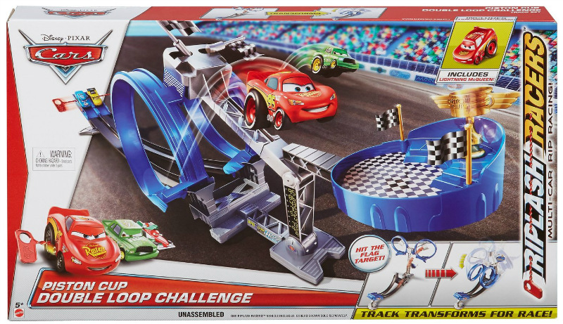 Disney/Pixar Cars Piston Cup Double Loop Challenge