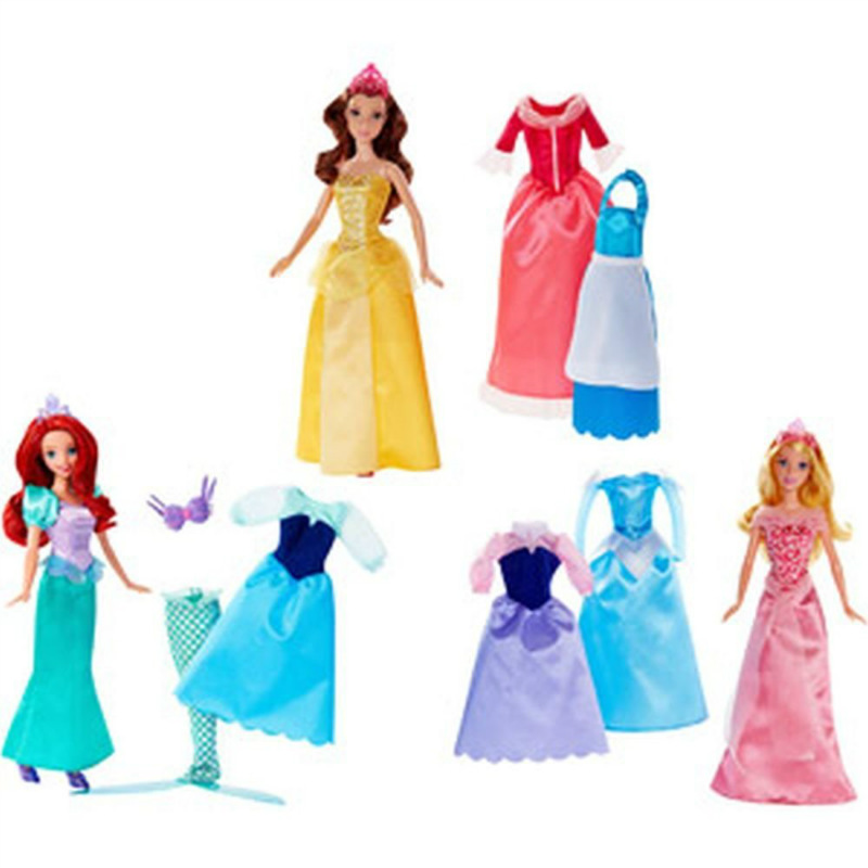 disney princess forever fairytale gift set 3 dolls 9