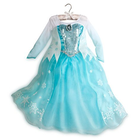 Disney Store Frozen Princessa ELSA Girls Costume N