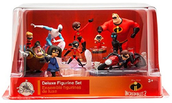 Disney Incredibles Deluxe Figure Set Brand NEW!