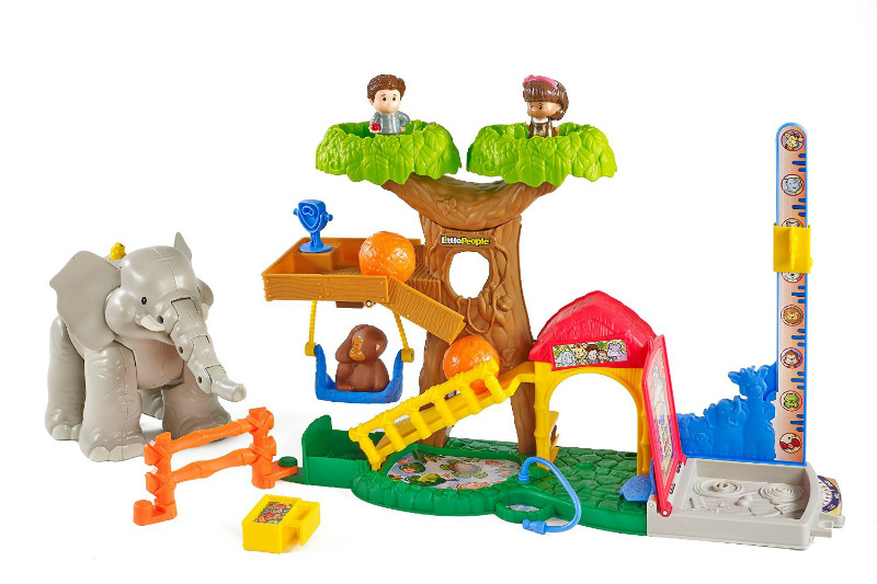 Fisher Price Little People BIG ANIMAL ZOO New!