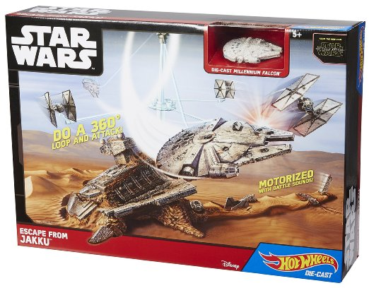 Hot Wheels Star Wars Escape from JAKKU Play Set NE