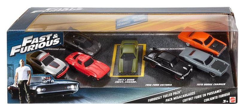 Fast & Furious Furiously Fueled Pack Set 7 Cars 19