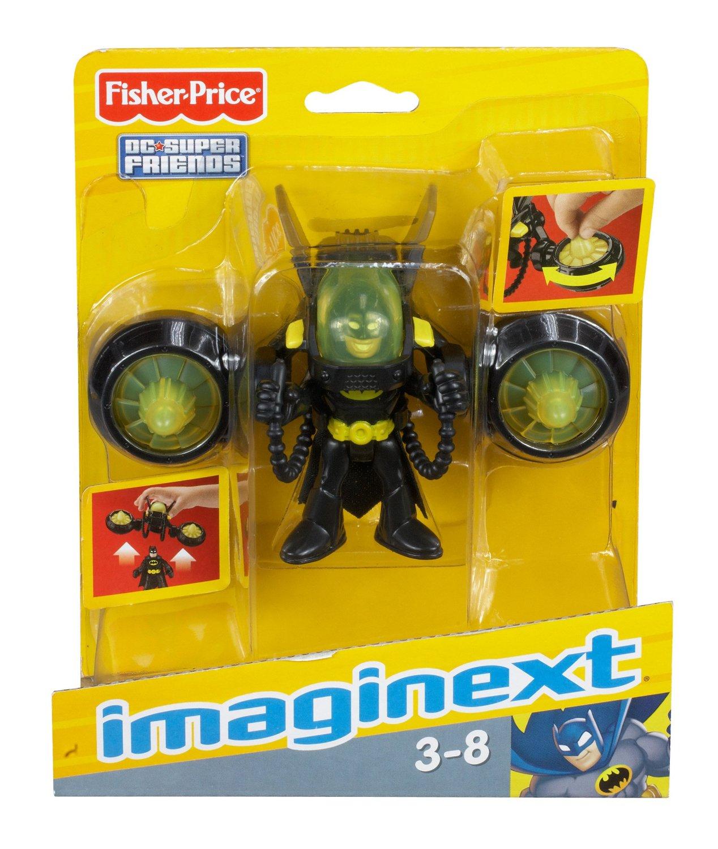 FISHER PRICE IMAGINEXT BATMAN JETPACK Figure New!!