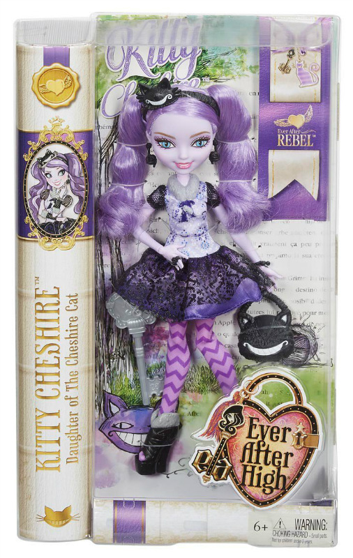 KITTY CHESHIRE Ever After High Rebel Doll NEW! CDH