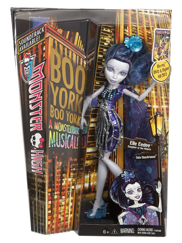 MONSTER HIGH Boo York ELLE EEDEE Doll NEW!