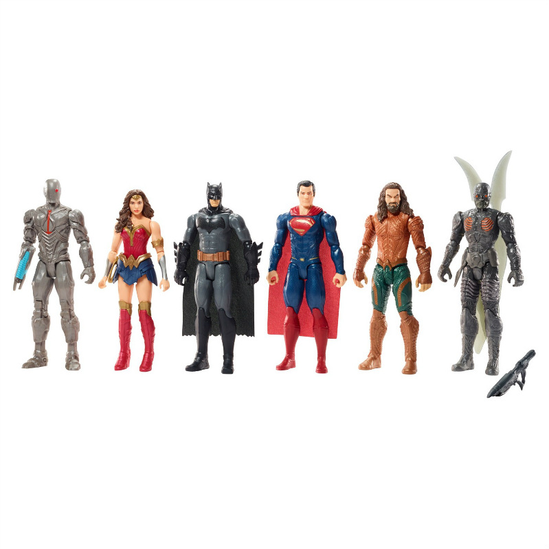 Justice League Batman Cyborg Wonder Woman Superman