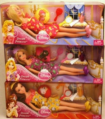 2012 Disney Dream Princess RAPUNZEL SLEEPING BEAUT