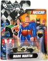 Hot Wheels JUSTICE LEAGUE #6 Mark Martin BATMAN 1/
