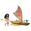 Disney Moana Starlight Canoe & Friends Set NEW!
